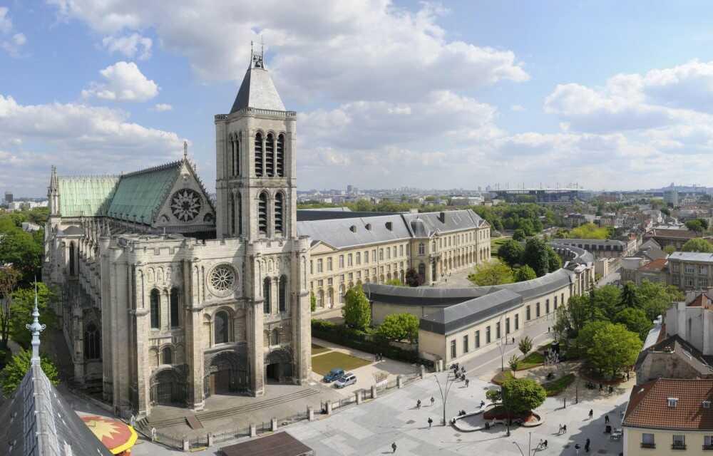 déménagement possible aux alentours de la basilique de Saint-Denis