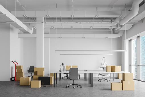 Déménagement de bureaux : meubles, archives à Paris 7