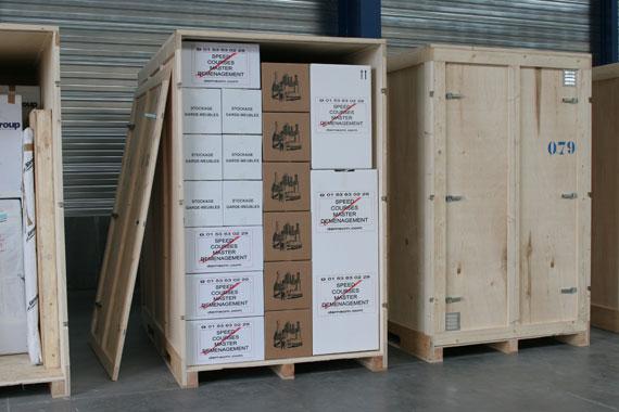 exemple de caisse de garde-meubles à crosne