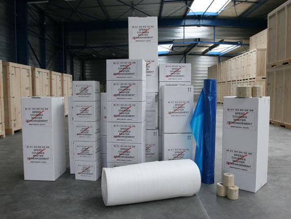 cartons et emballages de protection pour déménagement